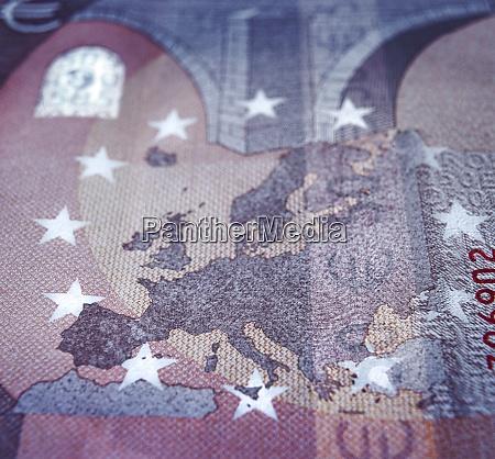 europe map detail