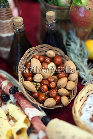 mediterranean delights almonds and olives