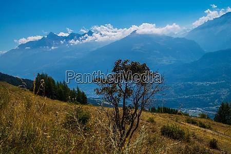 italian alps landscape
