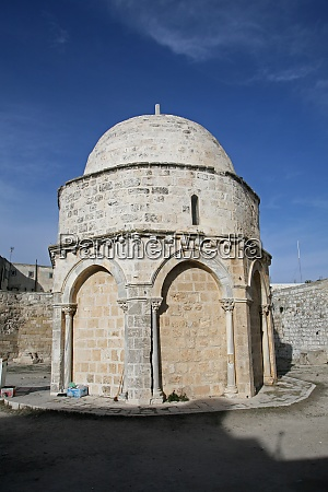 chapel of the ascension of jesus