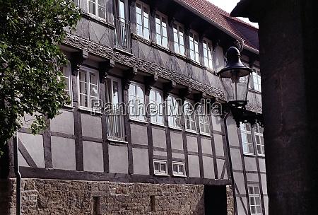 half timberes house in brunswik