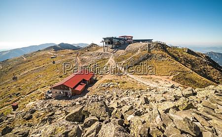 view from mount chopok low tatras