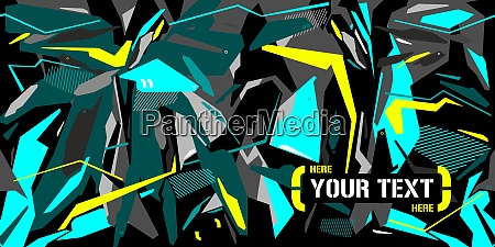 futuristic cyber mecha abstract background with