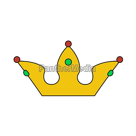 party crown icon