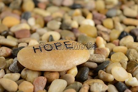 hope affirmation stone