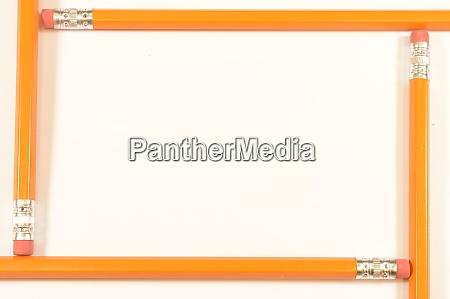 pencil border frame