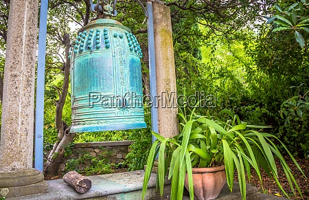 old japanese bell finely crafted in