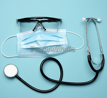 disposable medical mask plastic goggles and