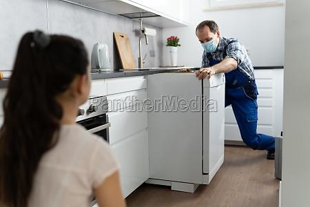 kitchen dishwasher appliance repair