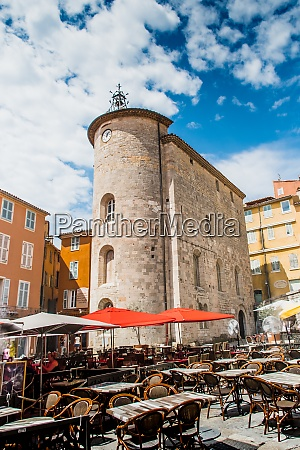 templar tower on place massillon in