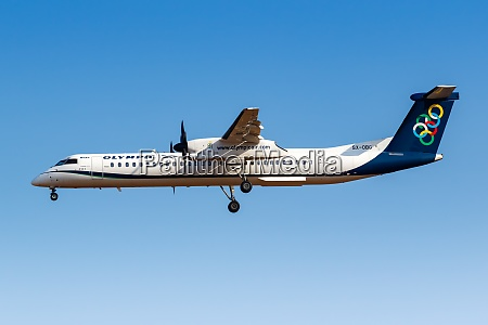 olympic air bombardier dhc 8 400
