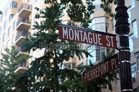 montague street and pierrepont plaza historic