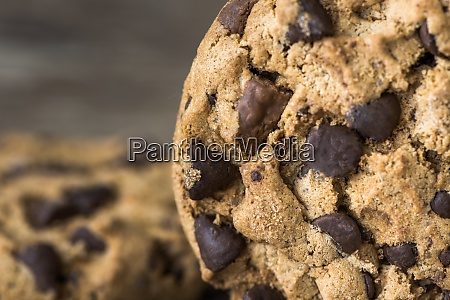 chocolate chip cookie detail