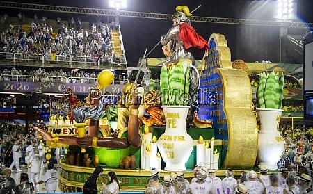 samba, parade, at, the, 2020, carnival, champions - 29041510