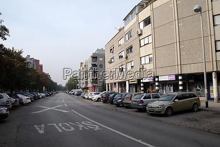 new housing blocks in malesnica residential