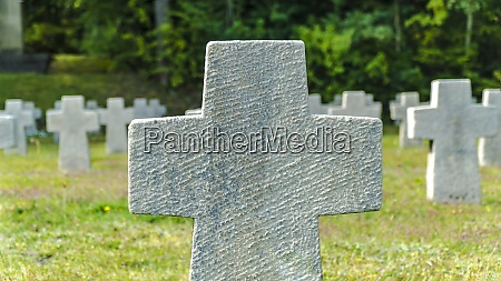 cemetery in the hinzert concentration camp