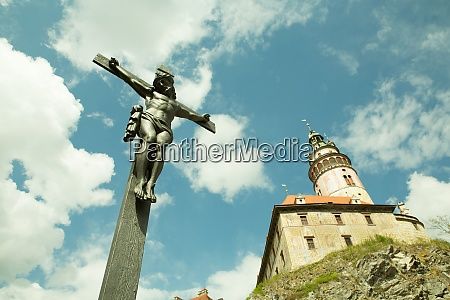 christ on the cross in cesky
