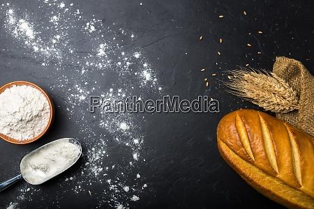 bread on slate
