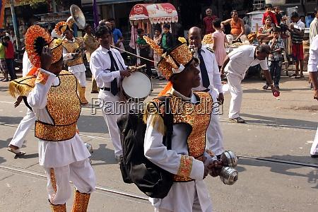 annual jain digamber procession in kolkata