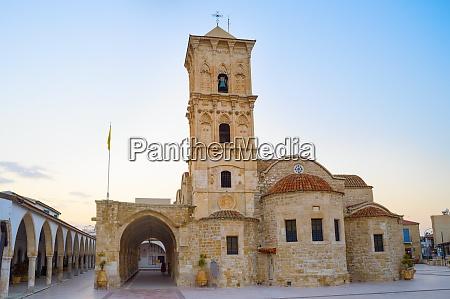lazarus church larnaka twilight cyprus
