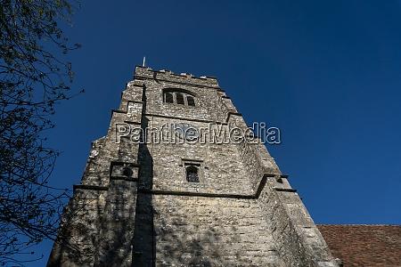 village church tower