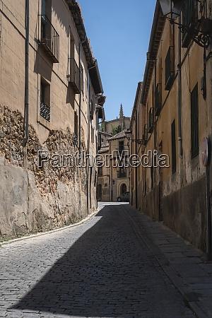 ancient buildings segovia spain