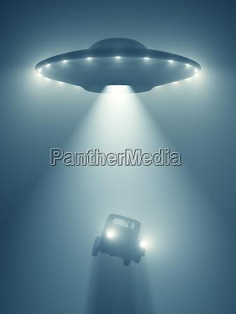 unidentified flying object gravity zero