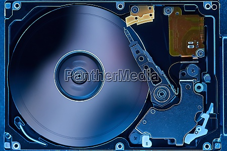 open hard disks hdd