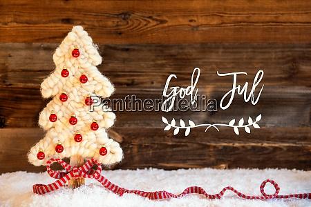 fabric christmas tree ball snow god
