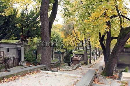 pere lachaise cemetery paris france