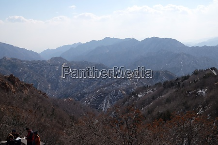 the great wall of china in