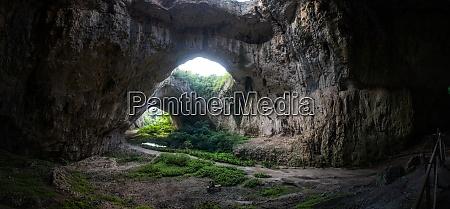 cave devetashka near lovech bulgaria