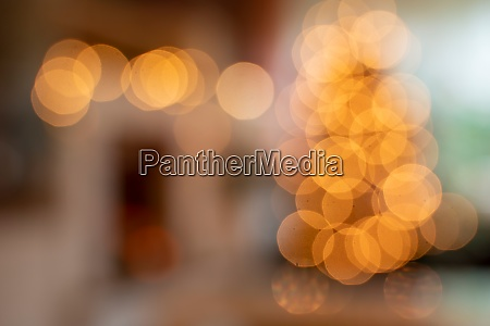 living room with christmas tree shiny