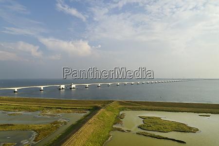the zeelandbrug zeeland bridge zierikzee zeeland