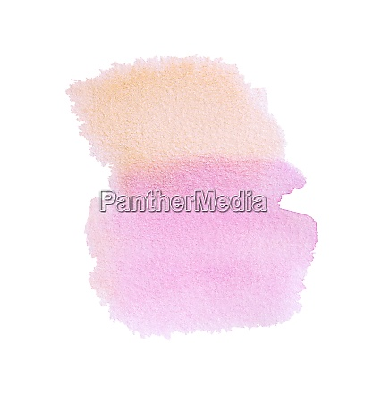 watercolor orange pink stripe hand drawn