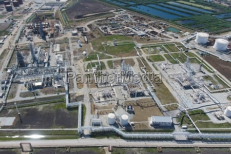 oil refinery plant for primary and