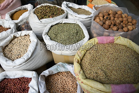 many oriental spices can be found