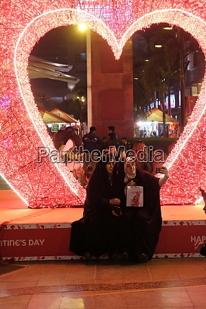 valentines day in select citywalk in