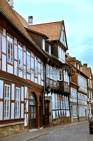 old town of hildesheim in lower