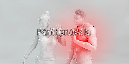 furious boyfriend frustrated at girlfriend