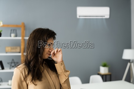 air conditioner odor at home