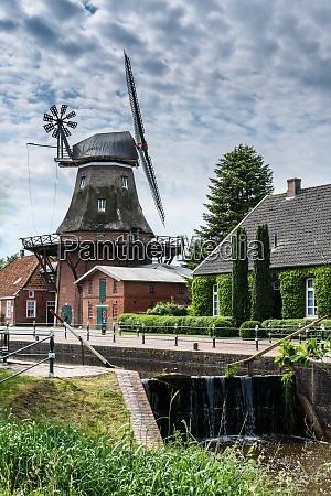 windmill westgrossefehn krummhoern east frisia lower