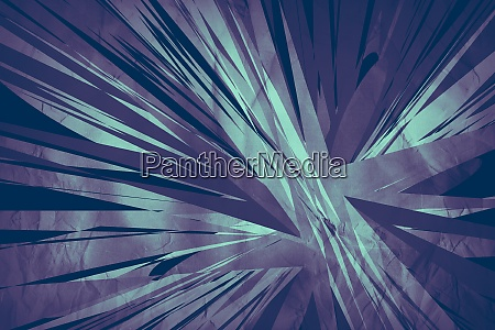 bright abstract shapes background