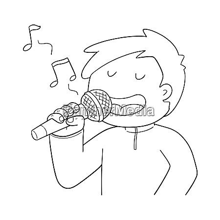 vector of singer