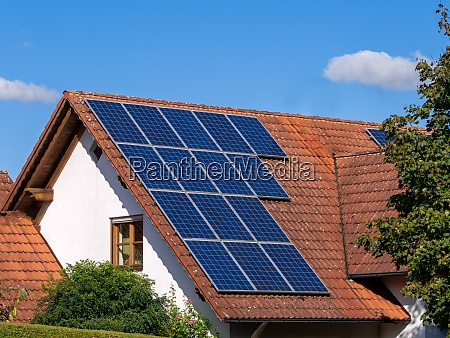 generic house photovoltaic system