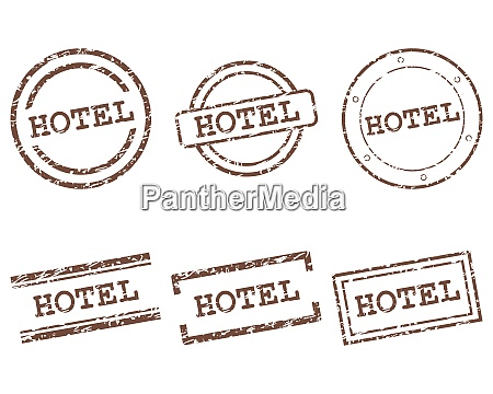 hotel stamps