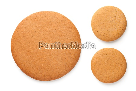 christmas gingerbread cookies in shape of