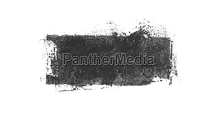 dirty paintbrush stripe with black grey