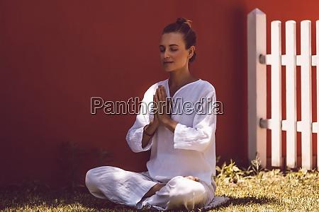 morning yoga exercises