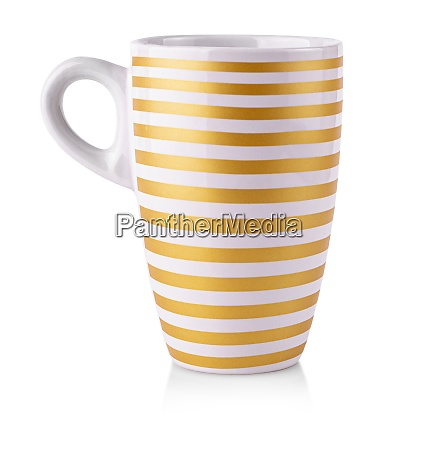 cup mug drink on white background